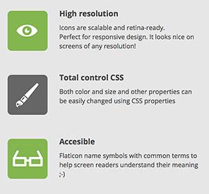Icon-Fonts sind vielfältig nutzbar.