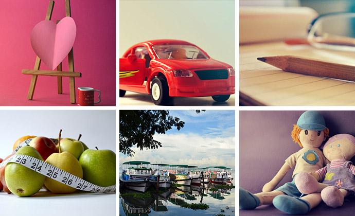 designerspics bietet farbenfrohe Detailaufnahmen.