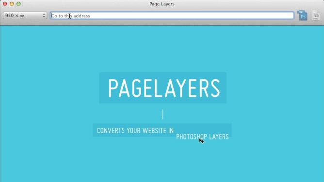 Pagelayers macht aus Webseiten PSD-Dateien.