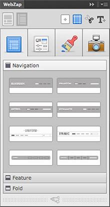 WebZap - Photoshop-Plugin für schnelle Prototypen.