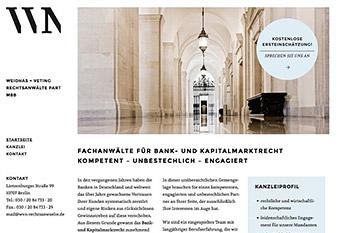 Klare Struktur und gut bedienbar, wvn-rechtsanwaelte.de.