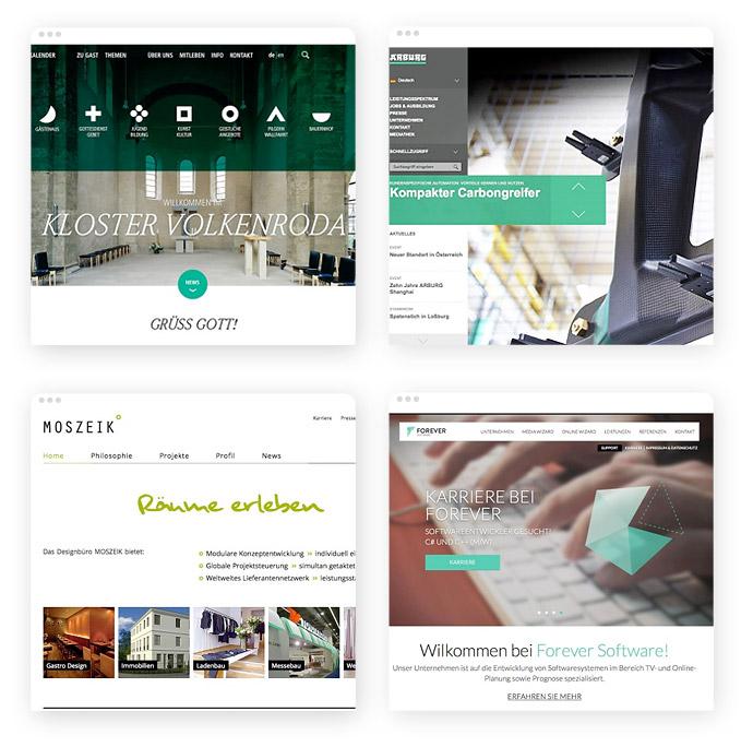 Grün im Einsatz als Business-Farbe