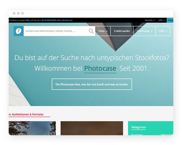 Beispiel: Elevator Pitch im Webdesign