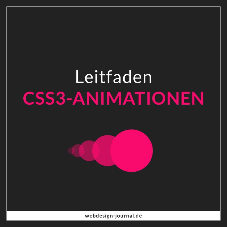 Der Leitfaden für CSS3-Animationen - Webdesign Journal