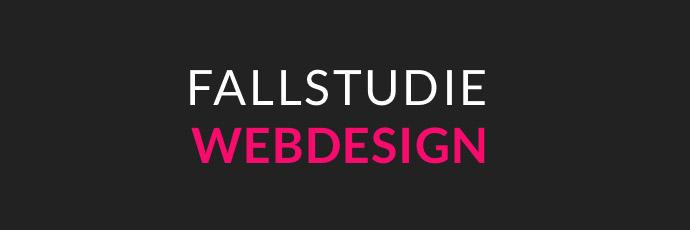 Fallstudie Webdesign