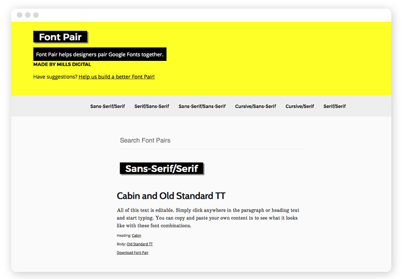 fontpair-webfonts-kombinationen-inspirationen