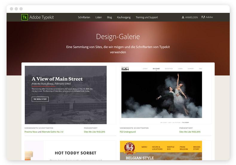 typekit-webfonts-galerie