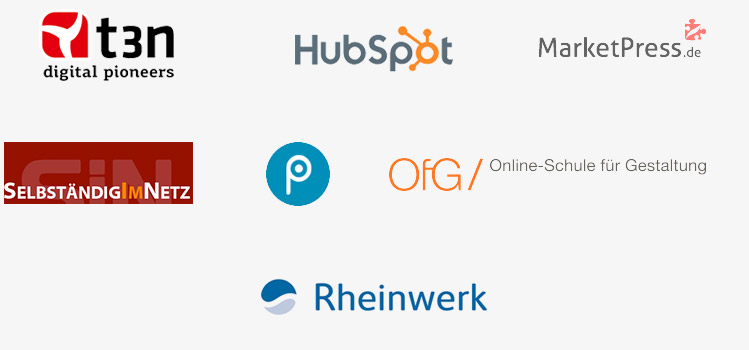 Das Webdesign Journal ist bekannt aus t3n, Rheinwerk Verlag, Selbständig im Netz, Pixeltuner und andere