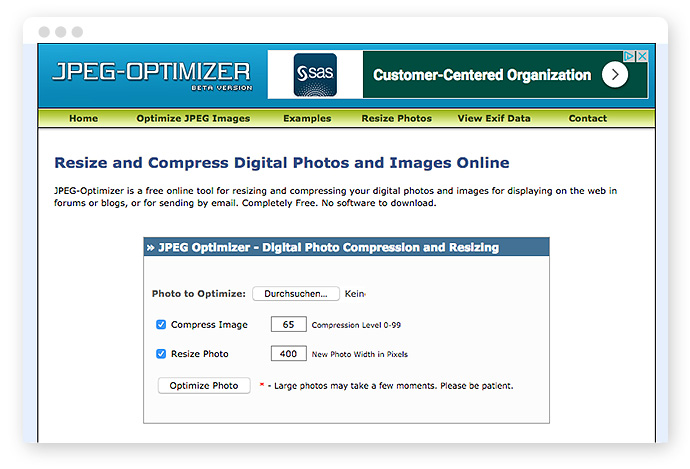 Bilder optimieren fürs Web – Tools, Dateiformate & Plugins 7