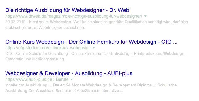 Webdesign und SEO – ein offener Brief an alle Webdesigner und Webprogrammierer 3