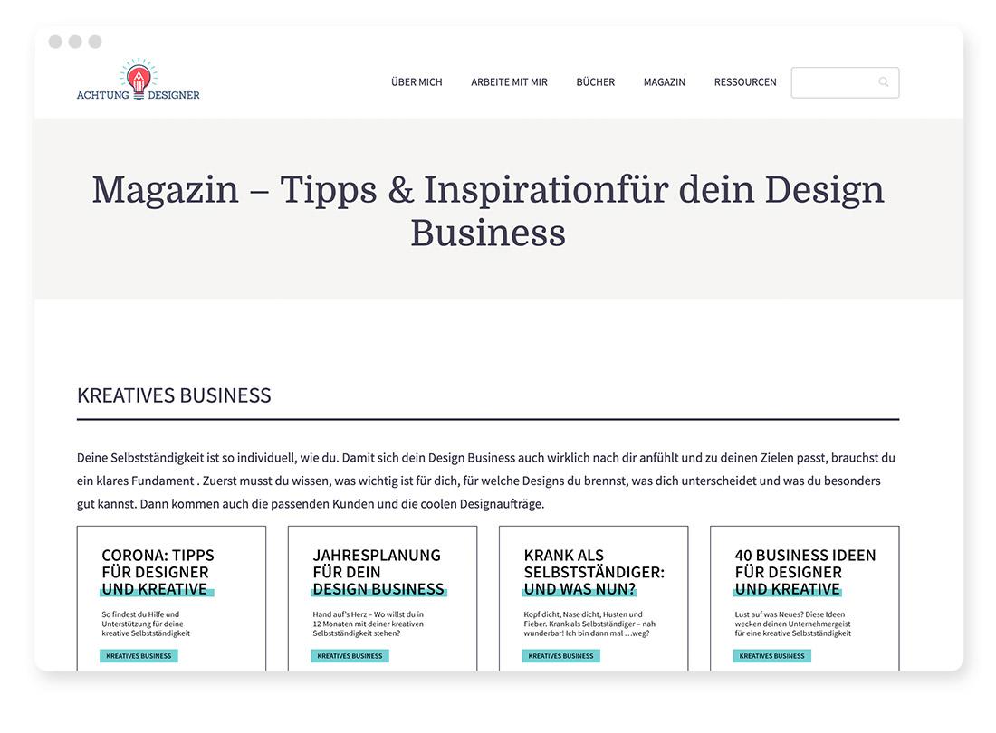 Design- & Webdesign-Blogs & -Podcasts zur Weiterbildung 21