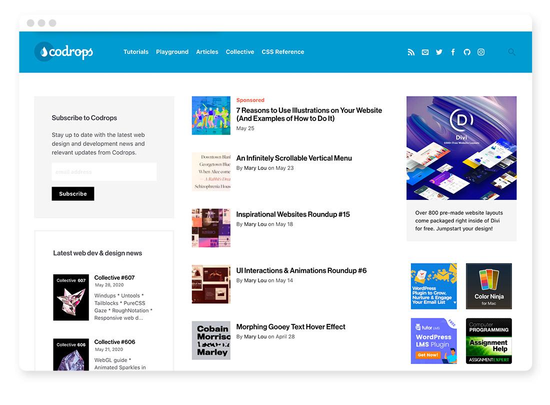 Design- & Webdesign-Blogs & -Podcasts zur Weiterbildung 10