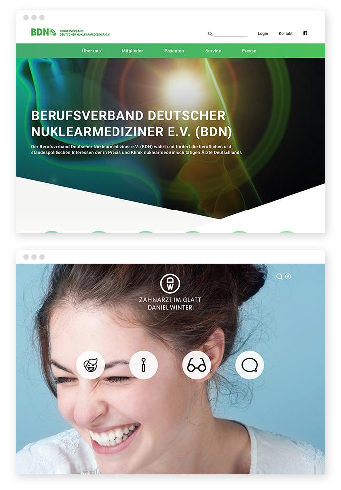 hero Bilder Webdesign Trend