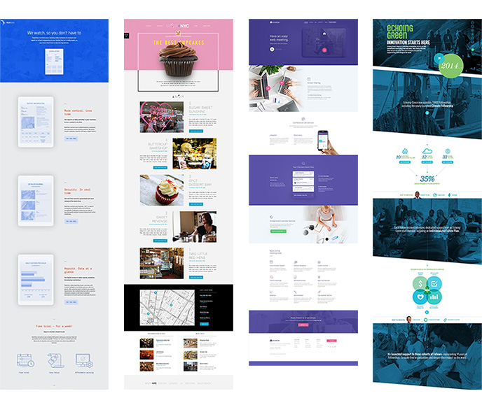 Long Pager Webdesign