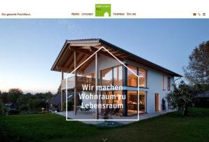 Braunes Webdesign