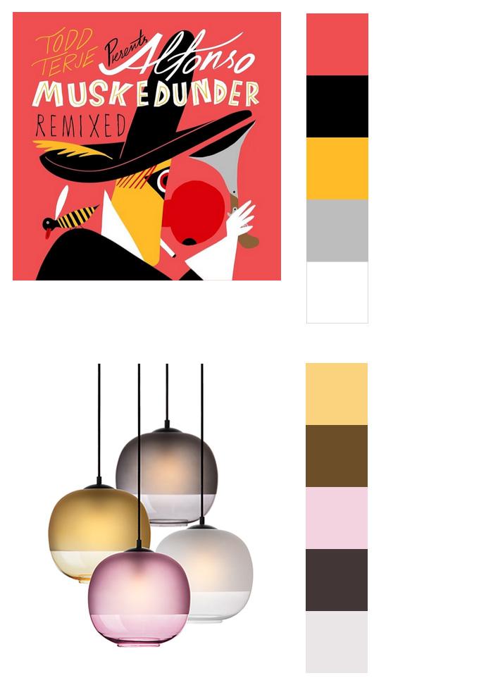 Farbinspirationen Grafik Design