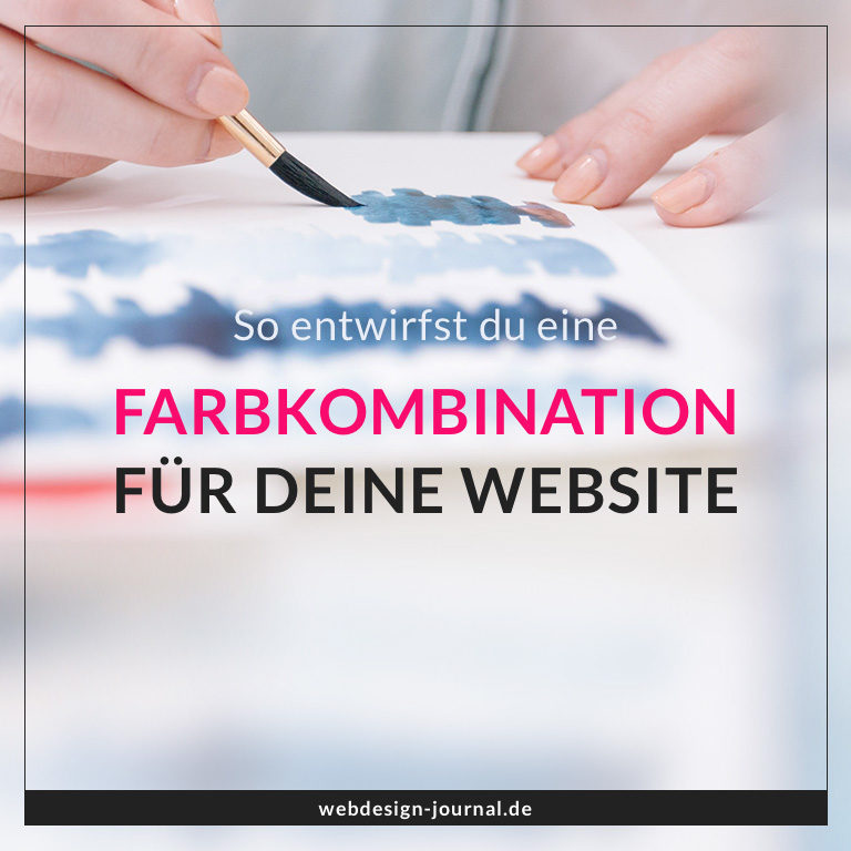 Farbkombination Website