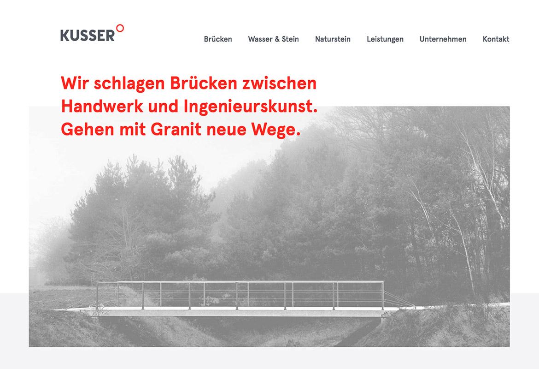 Webdesign Grau