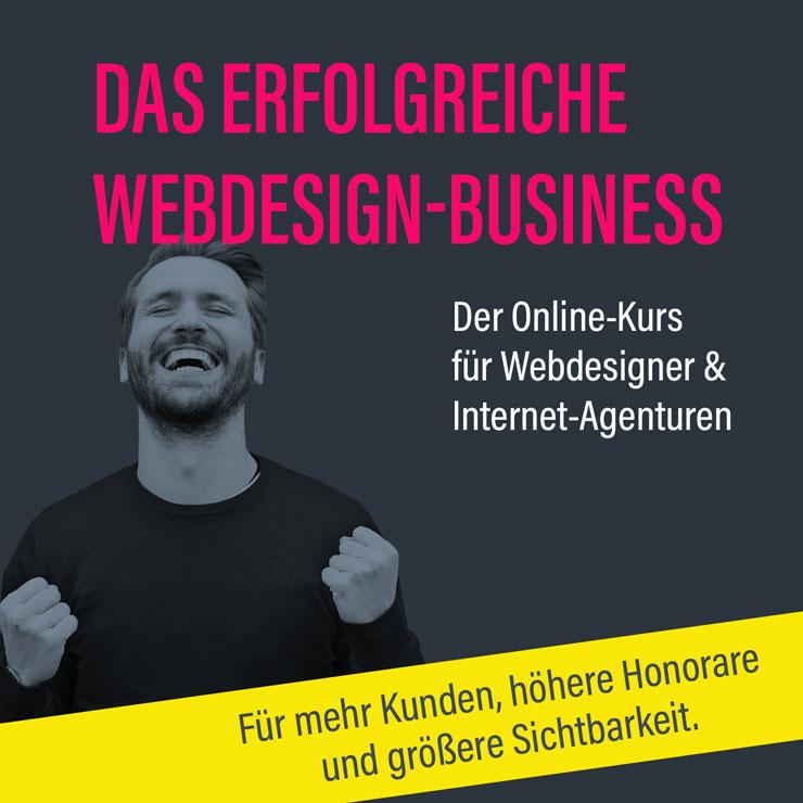 Online-Kurs – Erfolgreich als Webdesigner