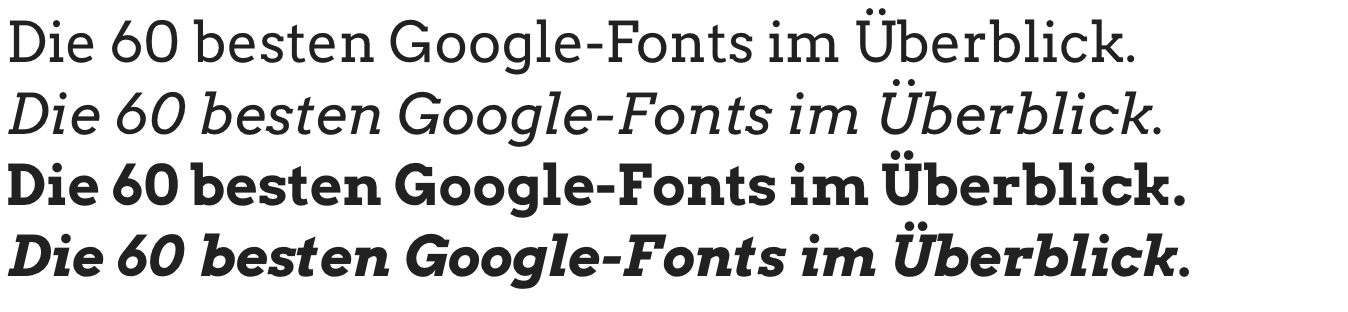Google-Fonts-Arvo
