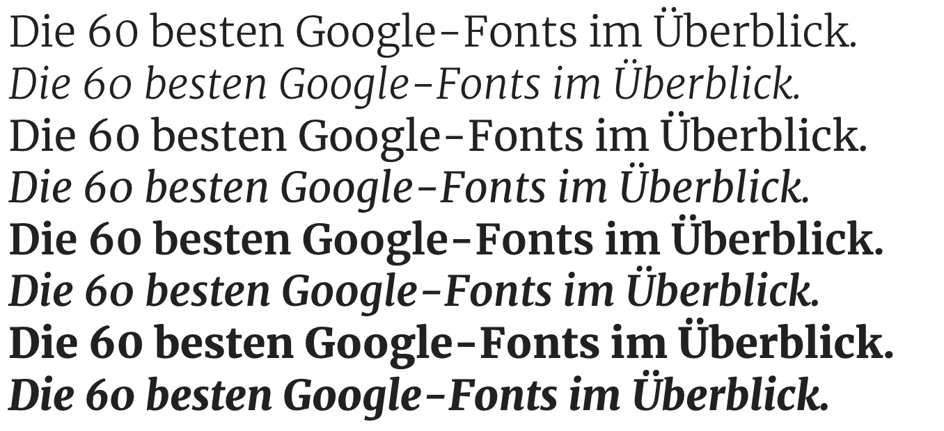 Google-Fonts-Merriweather