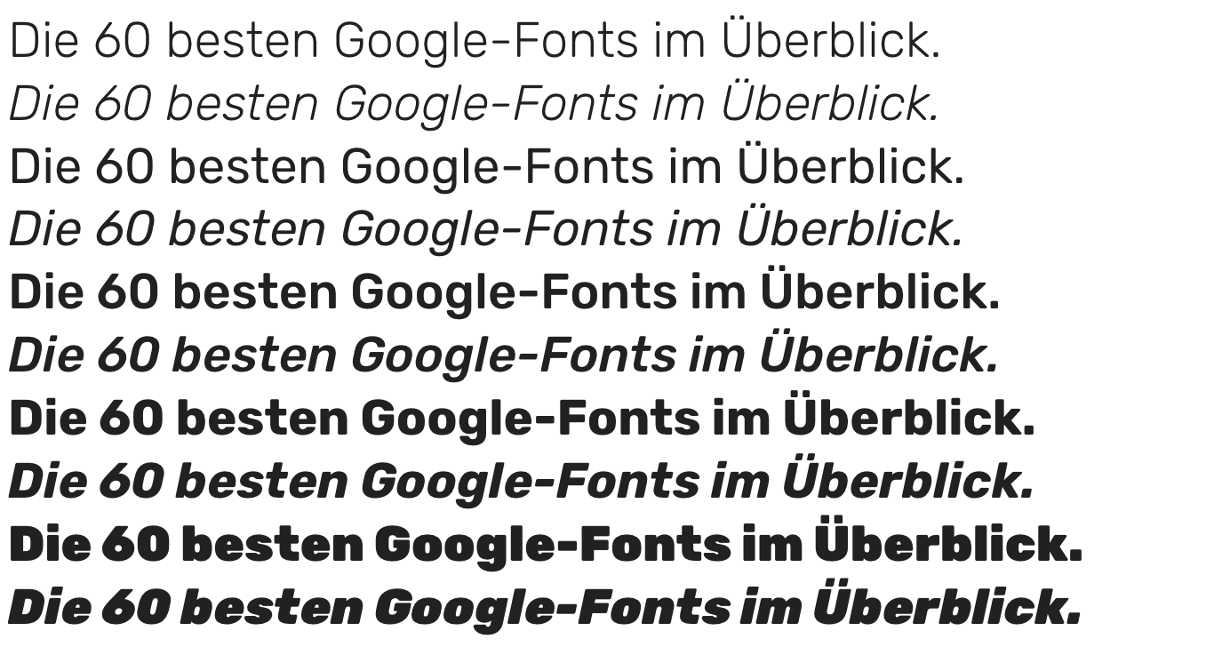 Google-Fonts-Rubik