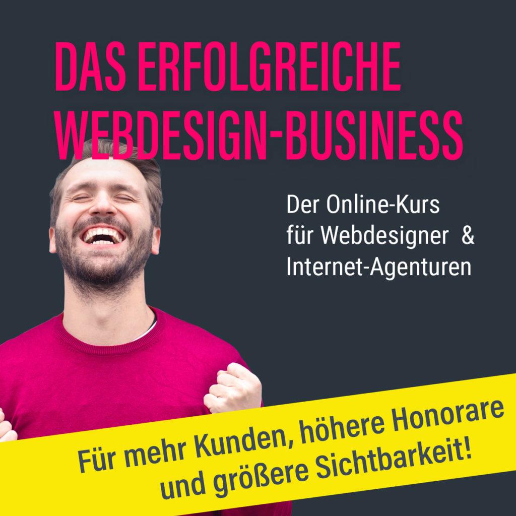 Online-Kurs Erfolgreich als Webdesigner