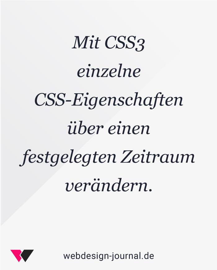 Der Leitfaden für CSS3-Animationen 1