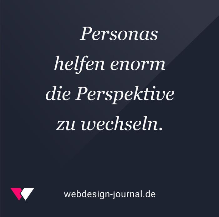 Persona und die Blog-Marke.