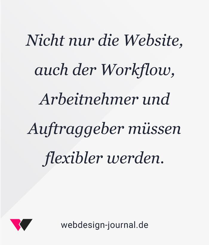 Anforderungen an den Workflow im responsiven Webdeisgn