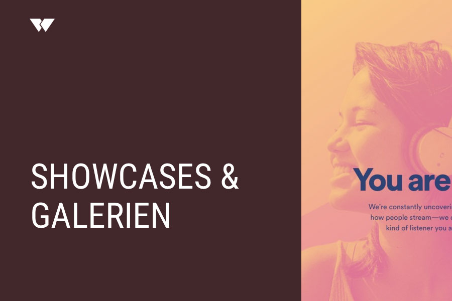 Showcases & Galerien-Tools – Webdesign Journal