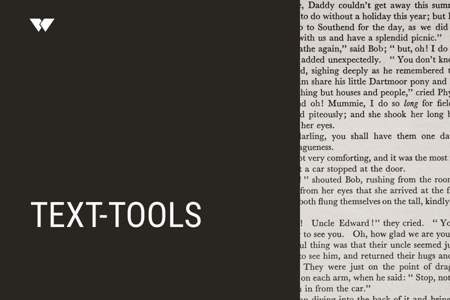 Text-Tools – Webdesign Journal