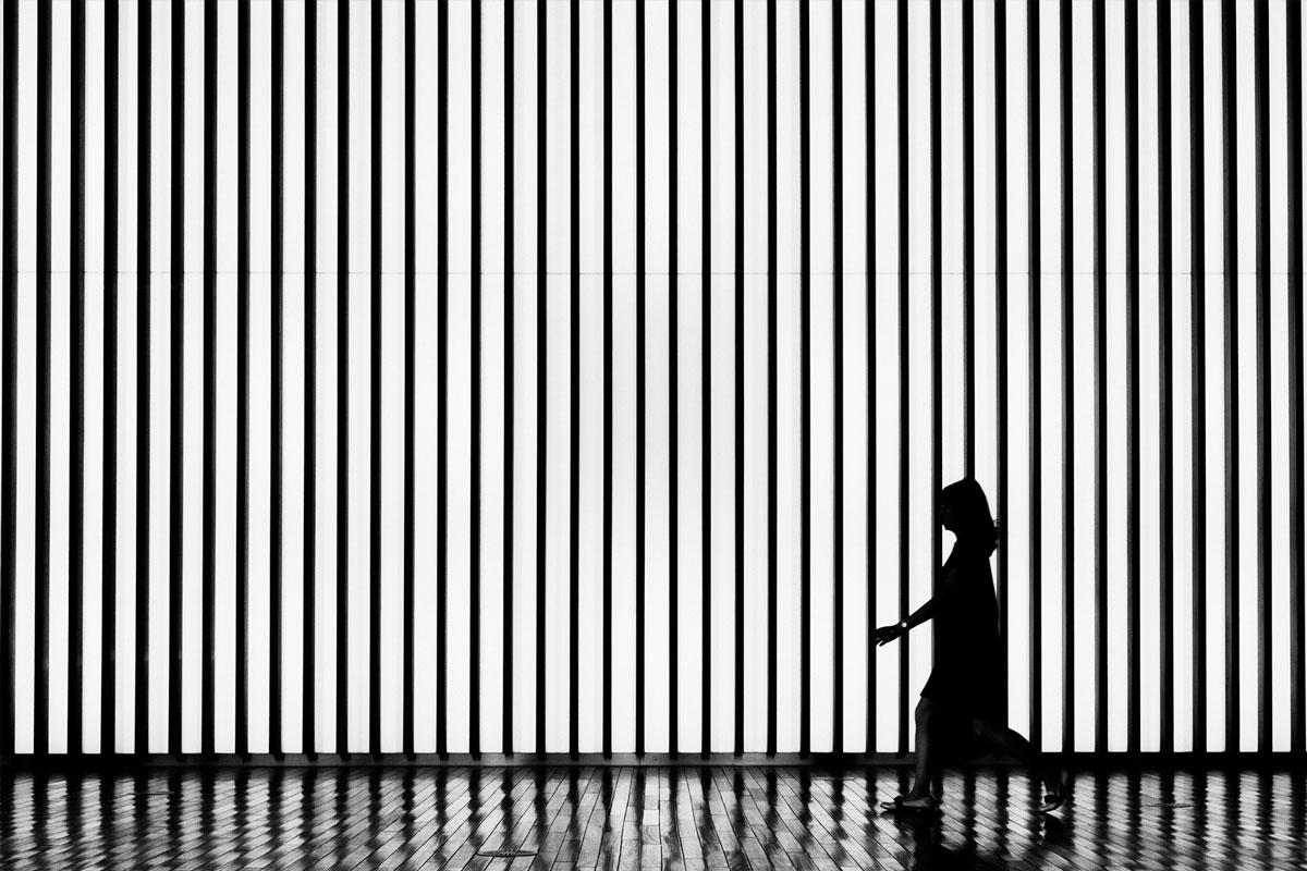 Der Helll-Dunkel-Kontrast in einem schwarz-weiß-Bild