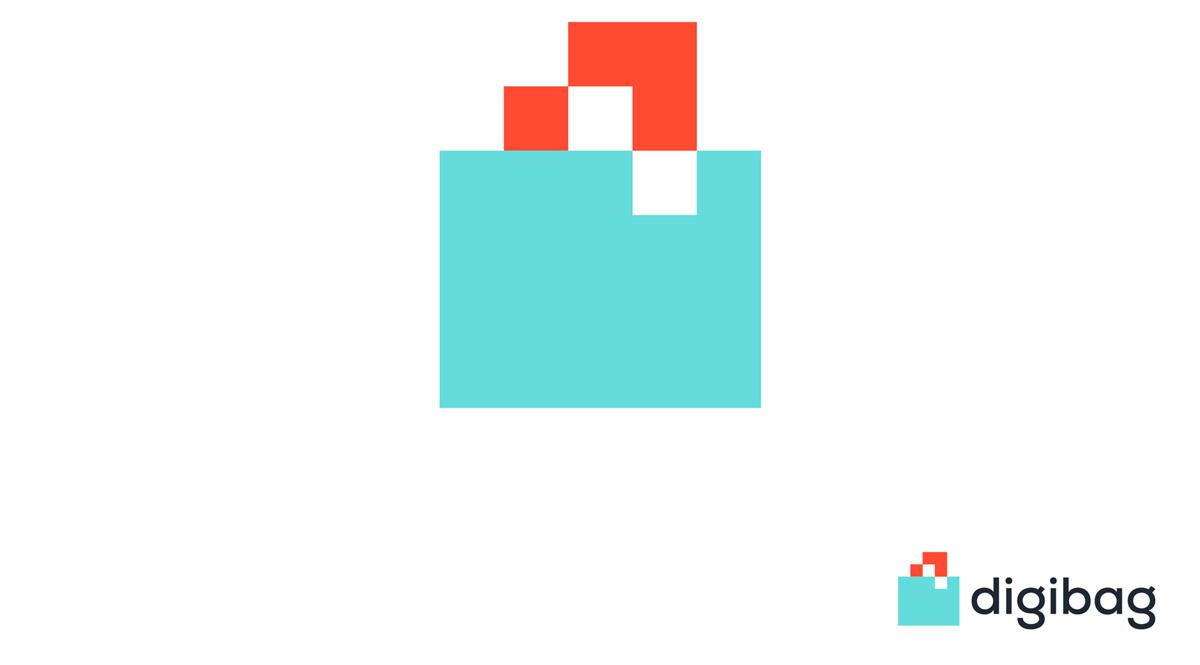 Logo mit Komplementärfarben