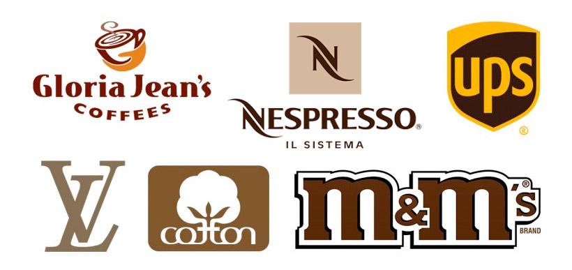 Braune Logos