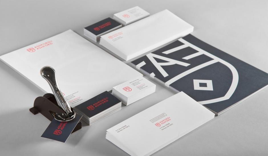 Graues Corporate Design im Branding