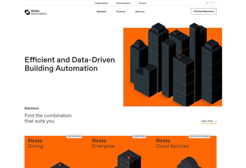 Farbe Orange im Webdesign