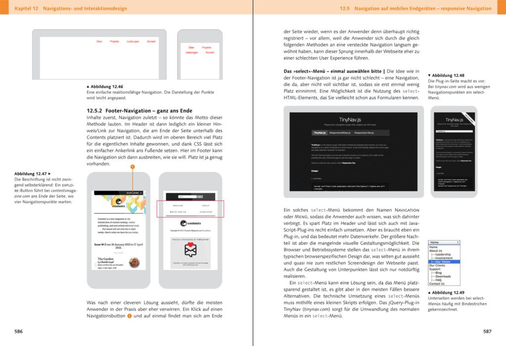 Webdesign Buch Leseprobe