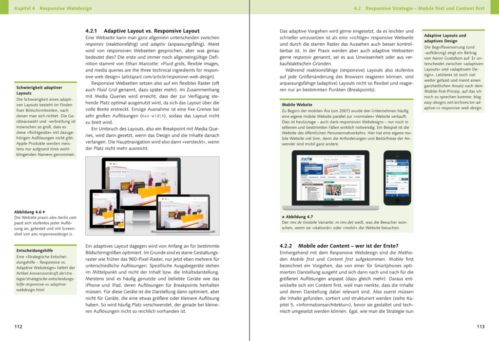 Webdesign Handbuch Leseprobe