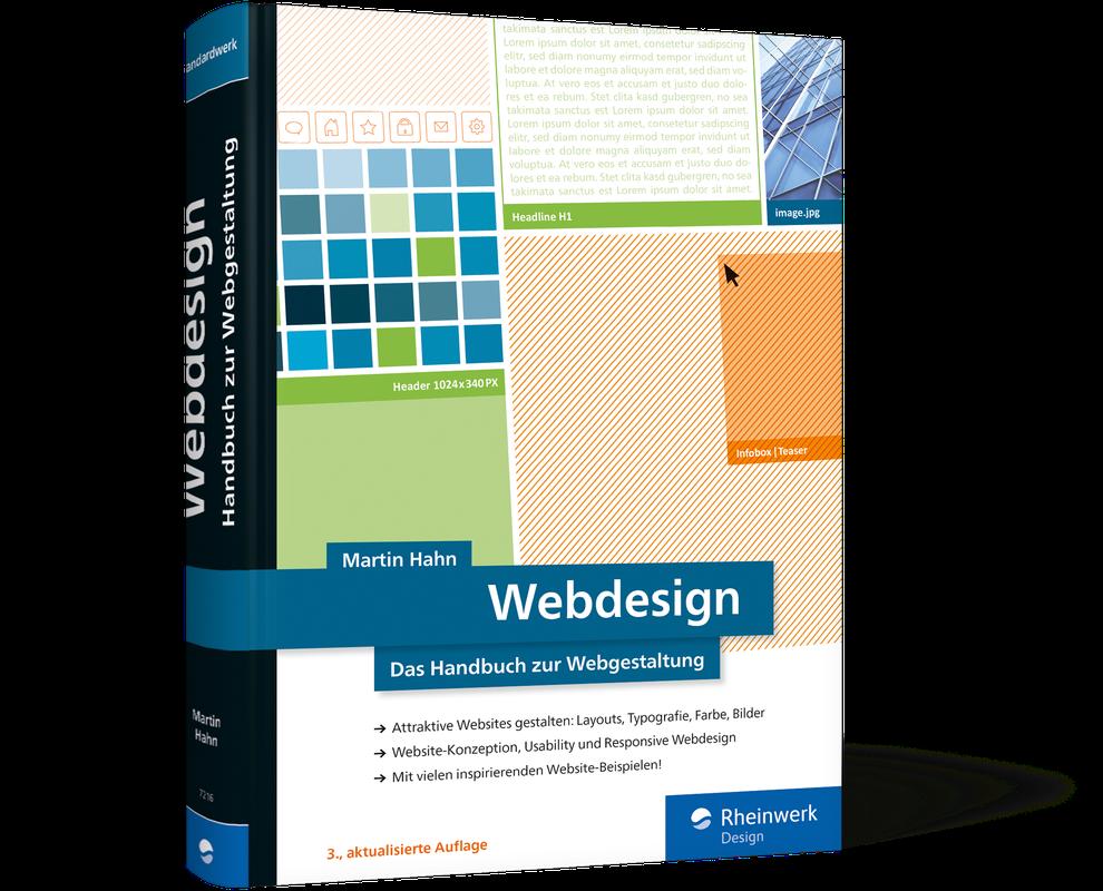 Das Webdesign Handbuch von Martin Hahn