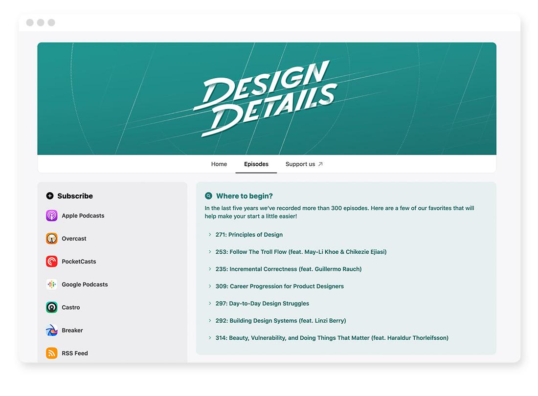 Design- & Webdesign-Blogs & -Podcasts zur Weiterbildung 37