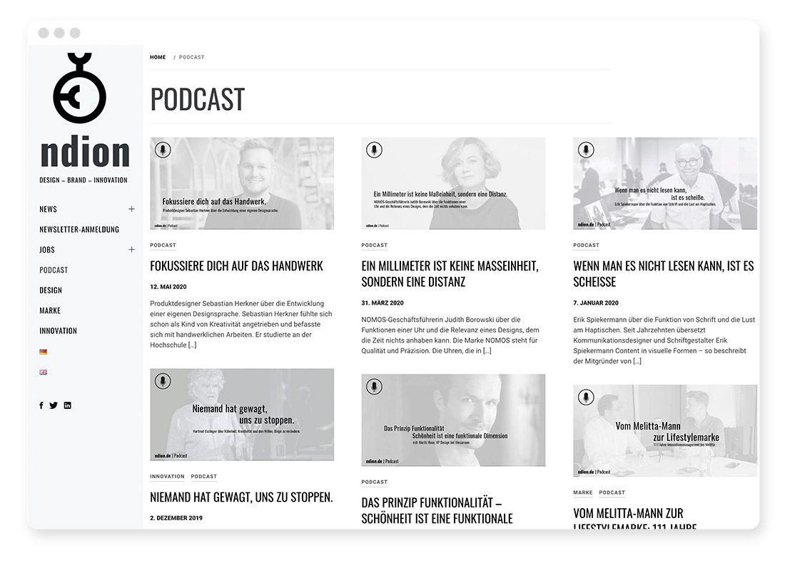 Design- & Webdesign-Blogs & -Podcasts zur Weiterbildung 33