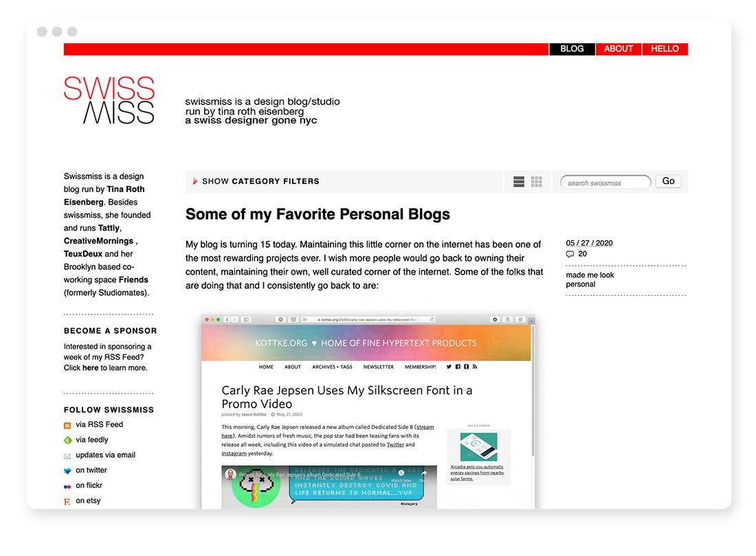 Design- & Webdesign-Blogs & -Podcasts zur Weiterbildung 23