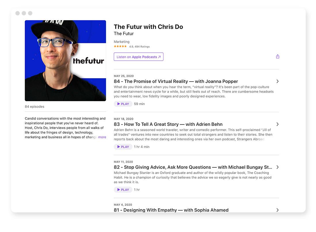Design- & Webdesign-Blogs & -Podcasts zur Weiterbildung 42