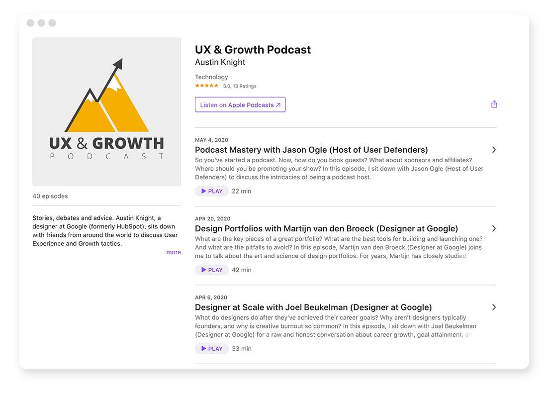 Design- & Webdesign-Blogs & -Podcasts zur Weiterbildung 40