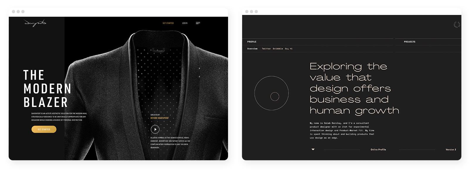 43 wichtige und aktuelle Webdesign-Trends im Überblick 7