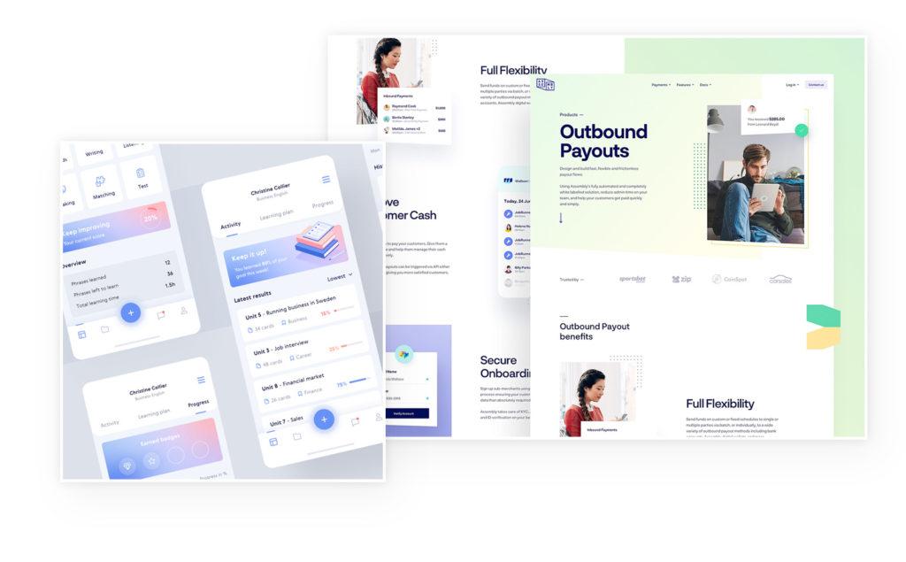 43 wichtige und aktuelle Webdesign-Trends im Überblick 12