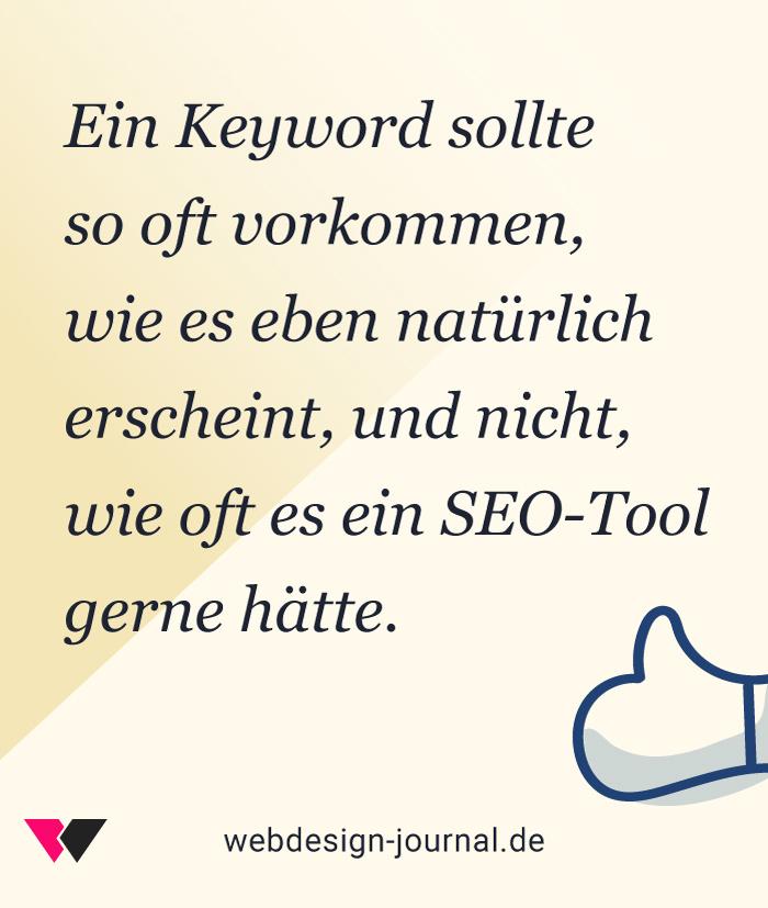 Content Design und Suchmaschinenoptimierung.