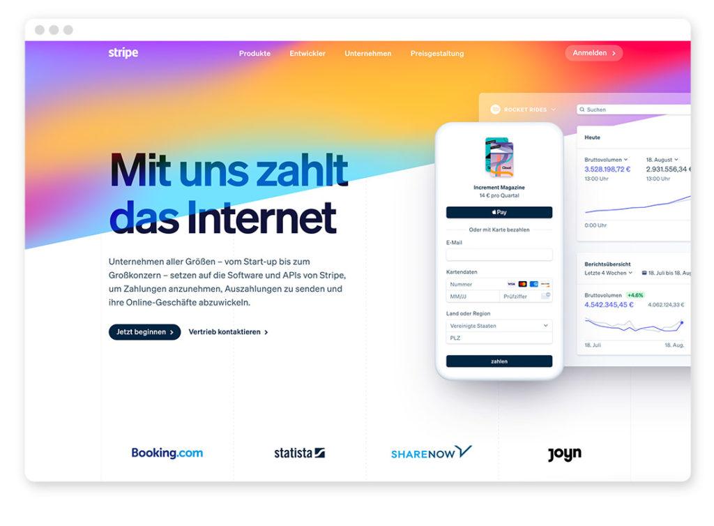 Farbtrends im Webdesign – Das sind die angesagtesten Farbkombinationen auf Websites 45