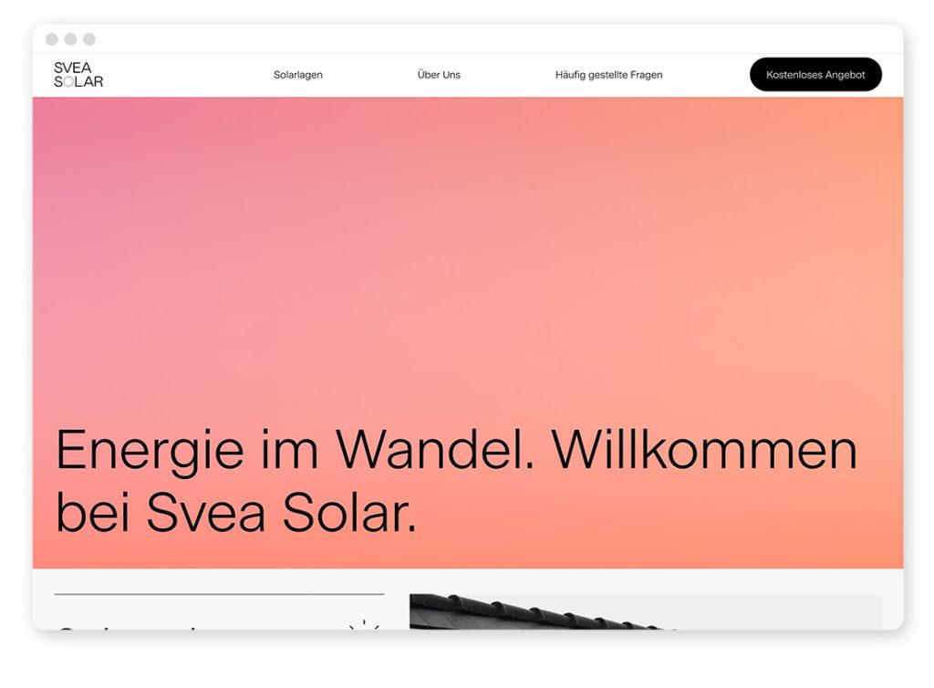 Farbtrends im Webdesign – Das sind die angesagtesten Farbkombinationen auf Websites 44